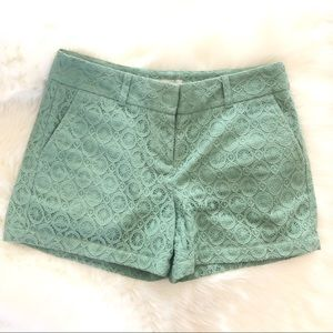 Loft Lace Overlay Dressing Shorts with Pockets 4
